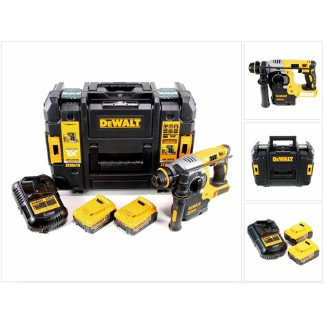 DeWalt DCH 273 M2 18 V Brushless Perforateur sans fil SDS-Plus avec boîtier TSTAK + 2x Batteries DCB 182 4,0 Ah + Chargeur DCB 105
