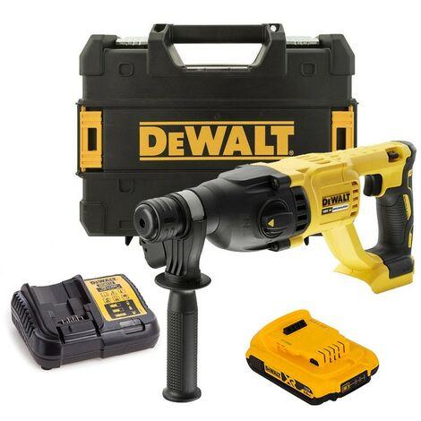 Dewalt DCH133D1 18v SDS+ Brushless Hammer SDS Drill 1 x 2.0ah Battery Tstak Case
