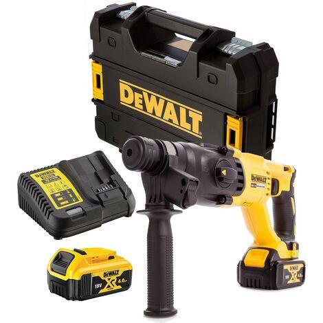 Dewalt DCH133M2 18v SDS+ Brushless Hammer SDS Drill 2 x 4.0ah Battery Tstak Case