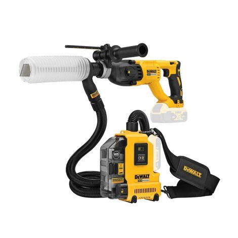 Dewalt DCH133N 18v Brushless SDS Hammer Drill 3 Mode Bare + Dust Extractor