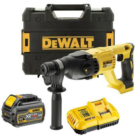 Dewalt DCH133T1 18v SDS+ Brushless Hammer SDS Drill 1 x 6.0ah Battery Tstak Case