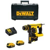 DeWalt DCH253 M2 SDS Plus Rotary Hammer (2 x 4,0Ah Li-Ion + Ladegerät + TSTAK)