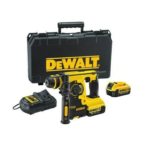 DeWalt DCH253M2 XR 18v Cordless SDS Hammer Drill with 2 x 4.0Ah Batteries