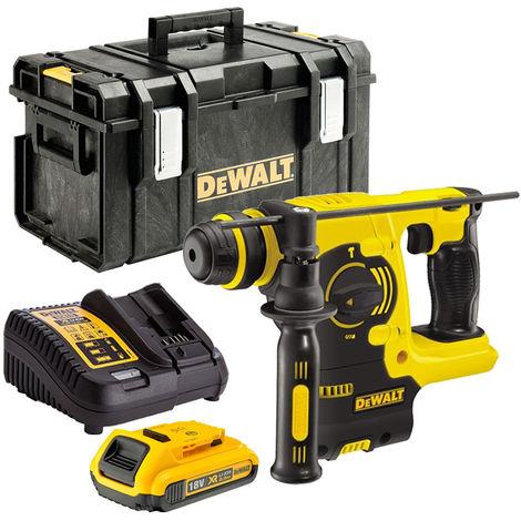 DeWalt DCH253N 18V SDS+ Hammer Drill with 1 x 2.0Ah Battery & Charger in Case:18V