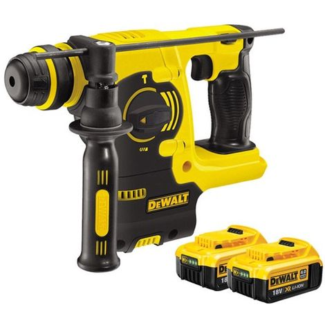 Dewalt DCH253N 18V SDS Plus Rotary Hammer Drill With 2 x 4.0Ah Batteries