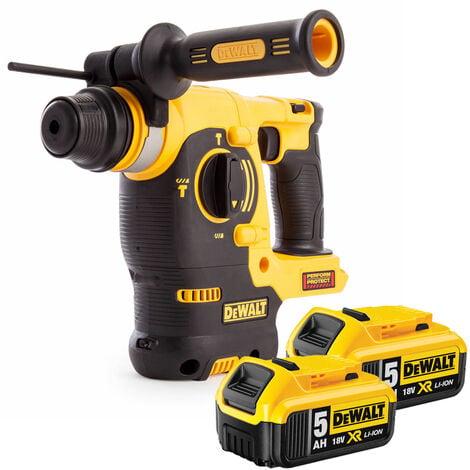 Dewalt DCH253N 18V SDS Plus Rotary Hammer Drill With 2 x 5Ah Batteries