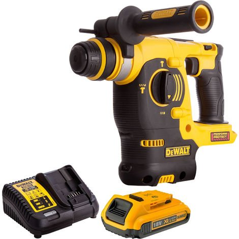 Dewalt DCH253N 18V SDS+ Rotary Hammer Drill Kit with 1 x 2.0Ah Battery & Charger:18V