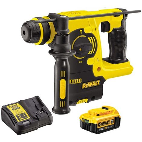 Dewalt DCH253N 18V SDS+ Rotary Hammer With 1 x 4.0Ah Battery & Charger