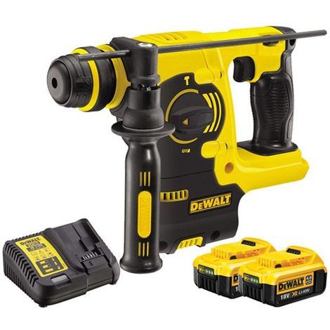 Dewalt DCH253N 18V SDS+ Rotary Hammer With 2 x 4.0Ah Batteries & Charger