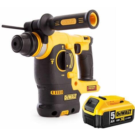 Dewalt DCH253N XR 18V SDS+ Rotary Hammer Drill Kit 1 x 5.0Ah Battery:18V
