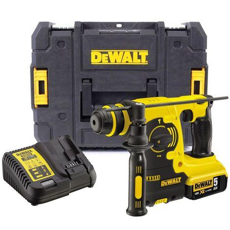 Dewalt DCH253P1 18v 3kg SDS+ Rotary Hammer Drill, 1 x 5.0ah Batt Charger + Case