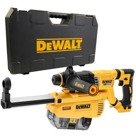 Dewalt DCH263N 18v Brushless SDS Hammer Drill 3 Mode Bare Cased + Dust Extractor