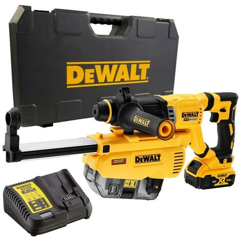 Dewalt DCH263P1 18v Brushless SDS Hammer Drill 3 Mode 1x 5.0ah + Dust Extractor