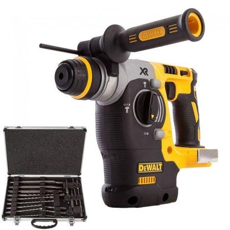 Dewalt DCH273N 18V Brushless SDS+ Hammer Drill + D-21200 17pcs Drill:18V