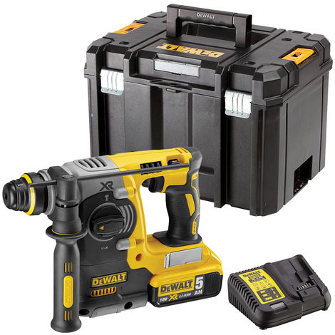 DeWalt DCH273N 18V Brushless SDS+ Rotary Hammer Drill with 1 x 5.0Ah Battery & Charger in Case
