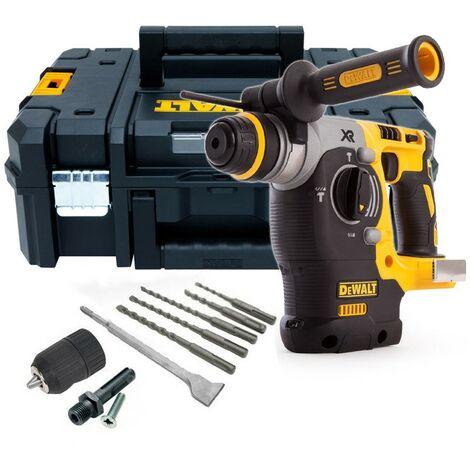 """main image of """"Dewalt DCH273NT XR 18v SDS Brushless Hammer Drill + SDS Bits Chisel + Chuck"""""""