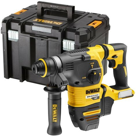 Dewalt DCH333N 54v XR FlexVolt Brushless SDS+ Hammer Drill Bare + Tstak Case