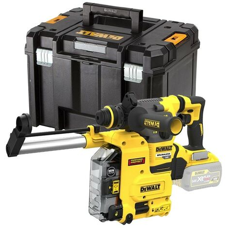 Dewalt DCH333NT 54v FlexVolt Brushless SDS Hammer Drill + Dust Extractor + Case