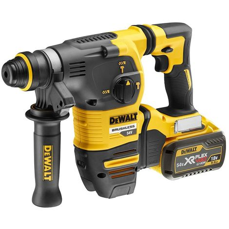 DeWALT DCH333X2 Marteau perforateur burineur sans fil SDS-Plus 54V - 9Ah 2 accus