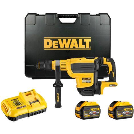 DeWalt DCH614X2 54V XR FlexVolt SDS-Max Rotary Hammer Drill 2×9.0Ah Batteries