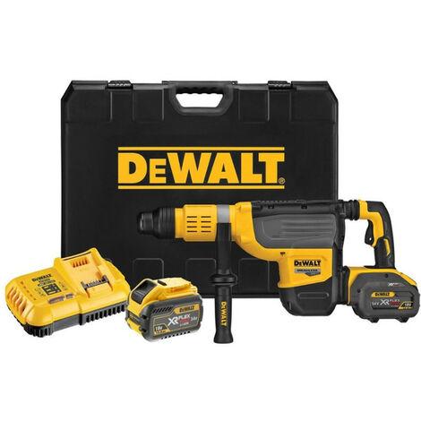 Dewalt DCH773Y2 54V 52mm XR Flexvolt SDSMax Rotary Hammer 2x12Ah Batts