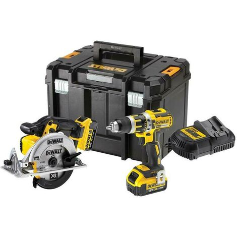 DeWalt DCK205M2T 18v XR 2 Piece Kit, 2 x 4.0Ah Li-ion Batteries