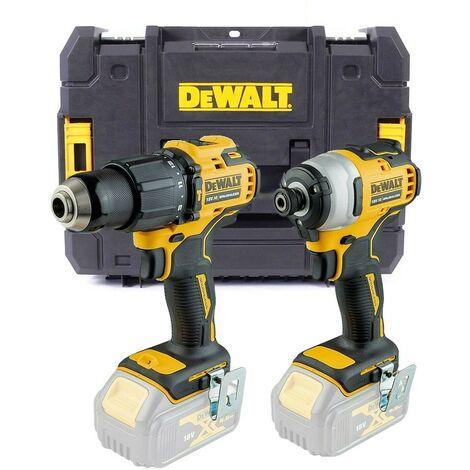Dewalt DCK2062 18v Brushless DCD709 Combi Drill DCF809 Impact Driver Bare+ Tstak