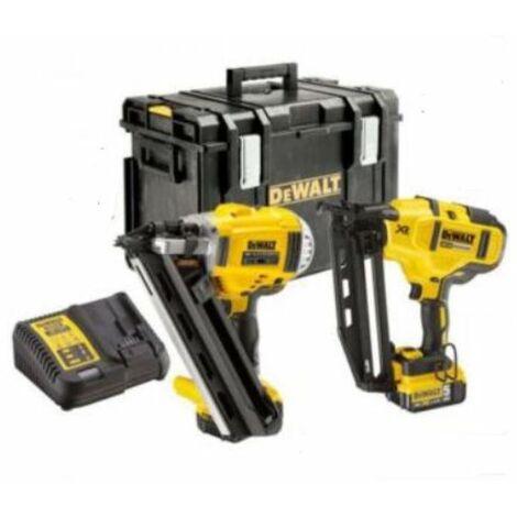 DeWALT DCK264P2-GB XR 18V 1st Fix and 2nd Fix Nailer Kit