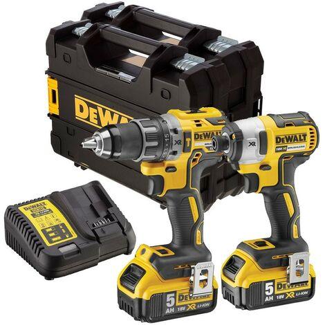 Dewalt DCK268P2T 18v Brushless DCD791 Drill Driver DCF887 Impact Driver 2x 5.0ah