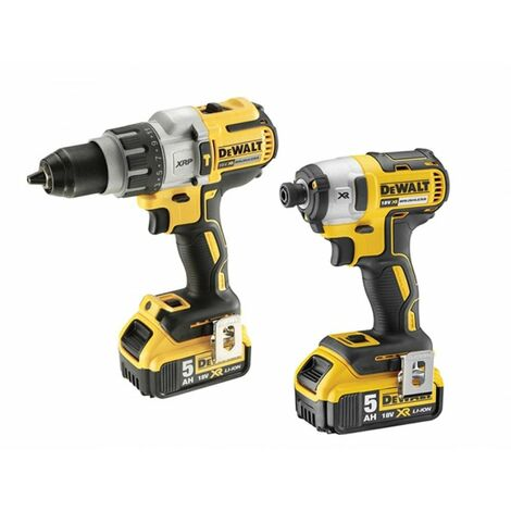 DeWalt DCK276P2 Brushless Twin Pack 18 Volt 2 x 5.0Ah Li-Ion