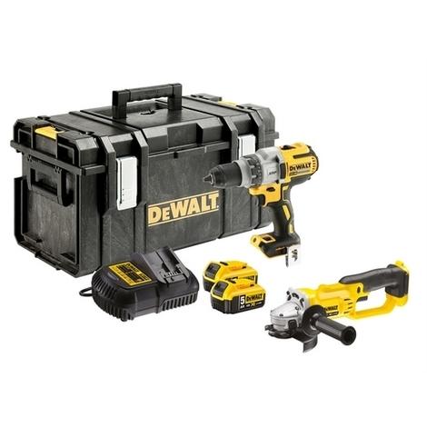 DeWalt DCK278P2-GB XR Twin Pack 18 Volt 2 x 5.0Ah Li-Ion