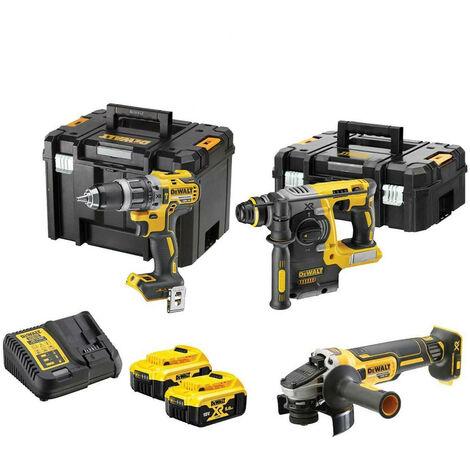DeWalt DCK306P2T 18V 3 Piece Power Tool Kit with 2x 5.0Ah Batteries