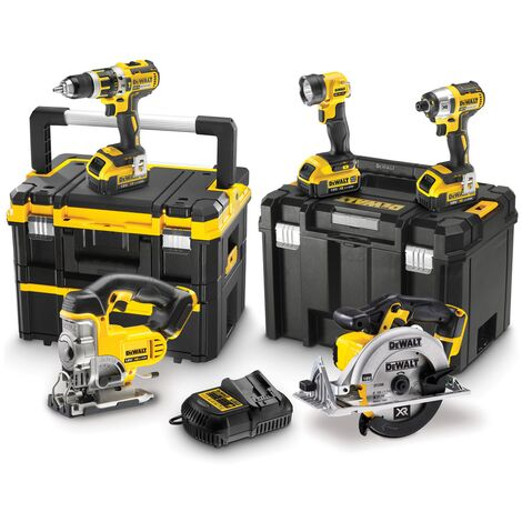DeWalt DCK550M3T Brushless 18v XR 5 Piece Power Tool Kit - 3x 4ah Lithium Ion