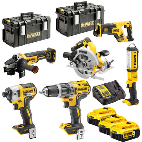 DeWalt DCK623P3 18V XR Brushless Compact Power Tool Kit 6pcs