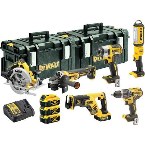 DeWalt DCK623P3-GB Combi Drill and Impact Driver XR 18v Brushless Kit including