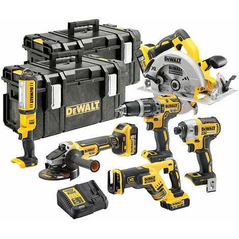 DEWALT DCK623P3-GB DCK623P3 18V XR Brushless 6 Piece Kit