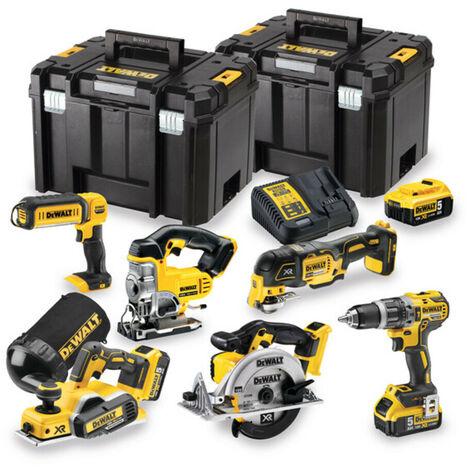 DeWalt DCK665P3T 18v Li-Ion -DCD796 DCP580 DCS331 DCS391 DCS355 DCL040- 3x 5.0Ah Batteries