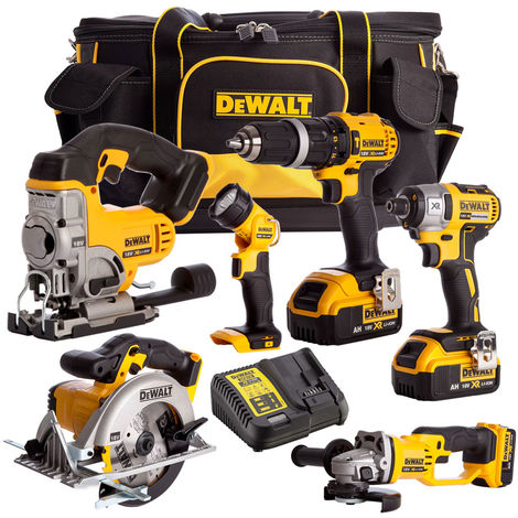 Dewalt DCK691M3B 18V Li-ion 6 Piece Combo Kit 3 x 4.0Ah Batteries Charger & Bag