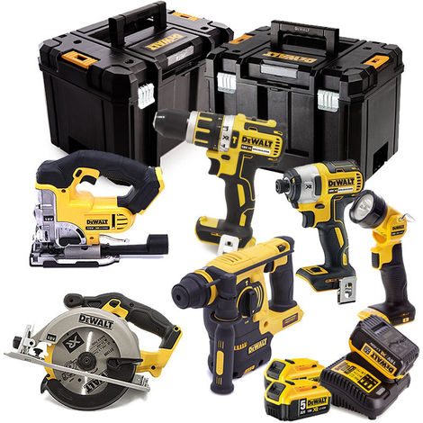 Dewalt DCK699P3T 6 Piece Cordless Kit 3X 5.0ah Batteries