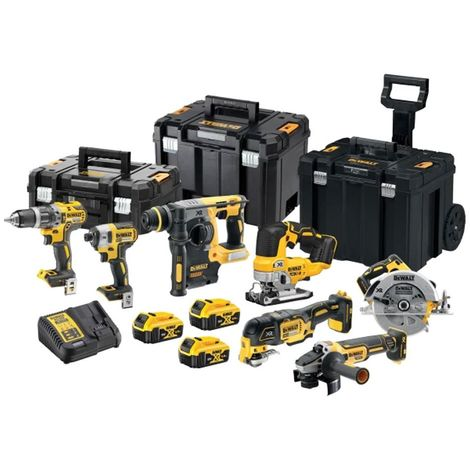 DeWalt DCK755P3T 18v XR Brushless 7pc Combination 5.0Ah Kit