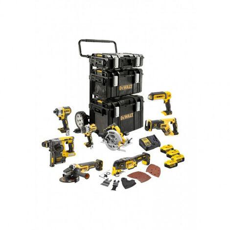 """main image of """"DeWalt DCK853P4 Ensemble d'outils à batteries 18V Li-Ion (4x batterie 5.0Ah)"""""""