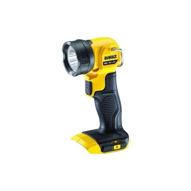 Livr/é sans batterie ni chargeur DeWalt DCL040  Lampe torche LED Sans fil 18 Volt//3 Ah