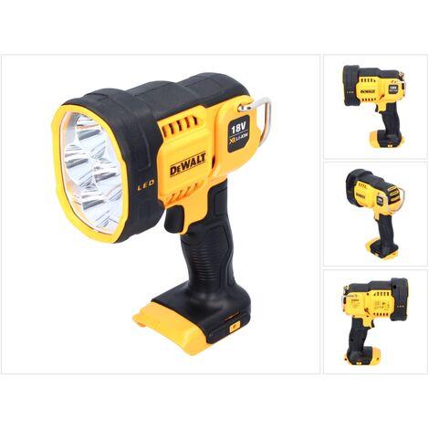 DeWalt DCL 043 18V XR Li-Ion Akku Lampe Solo DCL043-XJ - ohne Akku, ohne Ladegerät