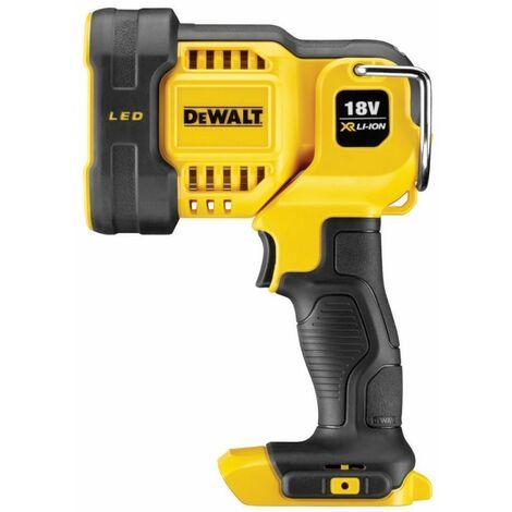 DeWalt DCL043 18V XR 1000 Lumen LED Spotlight Torch Body Only