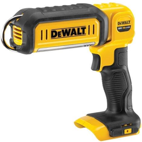 Dewalt DCL050N 18V Li-ion XR Handheld LED Work Light Torch Body Only