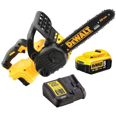 Dewalt DCM565P1 18v XR Brushless Chainsaw With 1 x 5AH Li-on Battery