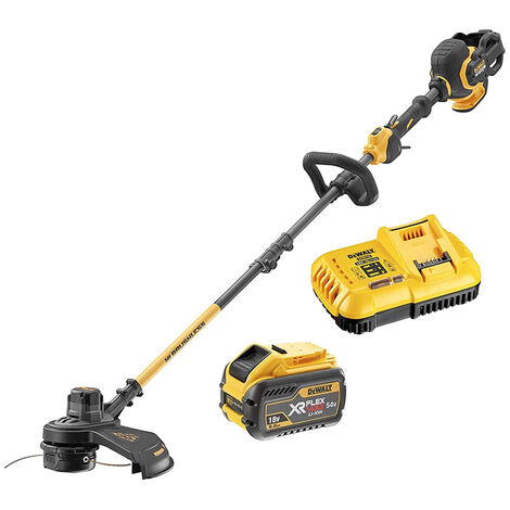 DeWalt DCM5713X1 FlexVolt XR Split Shaft Trimmer 18/54V 1 x 9.0/3.0Ah Li-ion