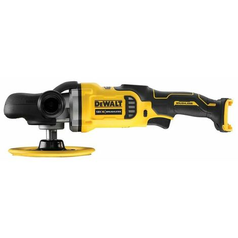 DeWalt DCM849N XR Brushless Rotary Polisher 180mm 18V Bare Unit