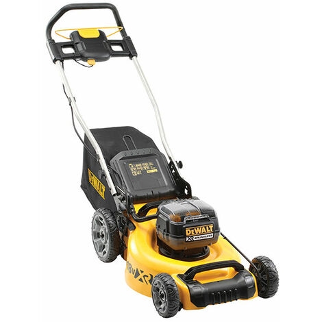DEWALT DCMW564P2-GB DCMW564P2 XR Brushless Lawn Mower 18V 2 x 5.0Ah Li-ion