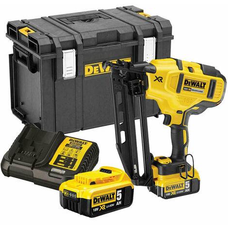 Dewalt DCN660P2 18V XR Cordless li-ion Brushless 2nd Fix Nailer 16Ga 2 X 5.0Ah B